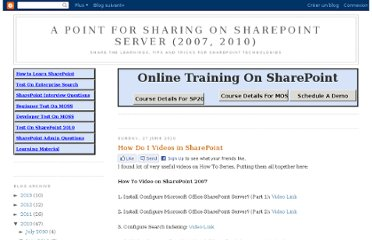 http://manish-sharepoint.blogspot.com/2010_06_01_archive.html