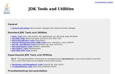 http://download.oracle.com/javase/1.5.0/docs/tooldocs/index.html#manage