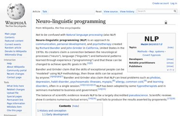 http://en.wikipedia.org/wiki/Neuro-linguistic_programming