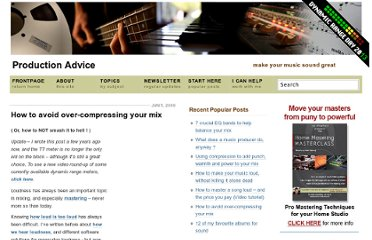 http://productionadvice.co.uk/how-to-avoid-over-compressing-your-mix/