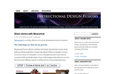https://instructionaldesignfusions.wordpress.com/2010/12/02/share-stories-with-xtranormal/