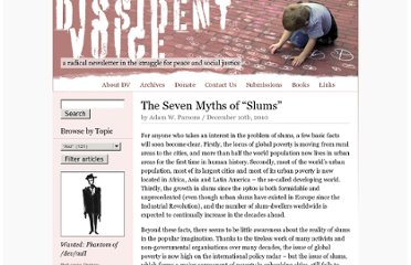 http://dissidentvoice.org/2010/12/the-seven-myths-of-slums/