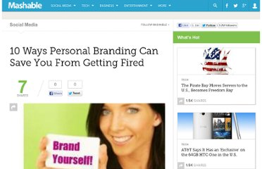 http://mashable.com/2008/12/10/personal-branding-in-recession/