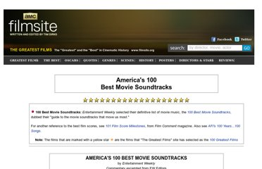 http://www.filmsite.org/100soundtracks.html