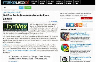 http://www.makeuseof.com/tag/user-drive-public-domain-audiobooks-from-librivox/