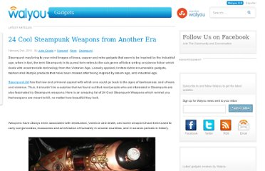 http://walyou.com/steampunk-weapons/