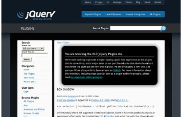 http://plugins.jquery.com/project/boxshadow