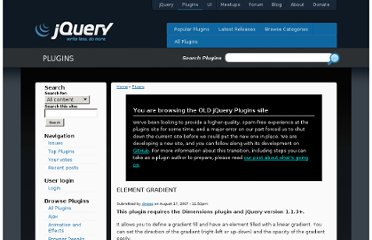 http://plugins.jquery.com/project/elementgradient