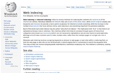 http://en.wikipedia.org/wiki/Web_indexing
