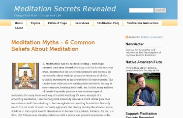 http://www.meditationsecretsrevealed.com/6-meditation-myths/