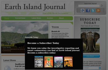 http://www.earthisland.org/journal/