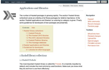 http://www.haskell.org/haskellwiki/Applications_and_libraries