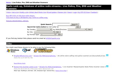 http://www.billsparks.org/Live_Police__Fire__EMS_and_Weather_Scanners/index.html