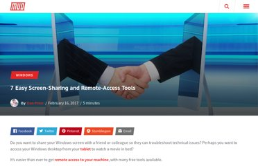 http://www.makeuseof.com/tag/7-easy-screen-sharing-and-remote-access-tools-all-free/