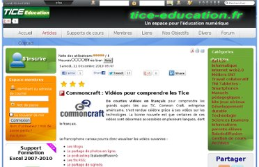 http://www.tice-education.fr/index.php?option=com_content&view=article&id=404:commoncraft--videos-pour-comprendre-les-tice&catid=52:internetweb2&Itemid=251