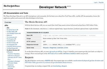 http://developer.nytimes.com/docs/movie_reviews_api