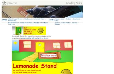 http://www.ae4rv.com/games/lemonade.htm