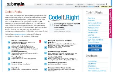 http://submain.com/products/codeit.right.aspx