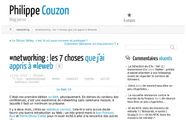 http://philippe-couzon.com/2010/12/12/networking-les-7-choses-que-jai-appris-a-leweb/
