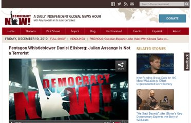 http://www.democracynow.org/2010/12/10/whistleblower_daniel_ellsberg_julian_assange_is