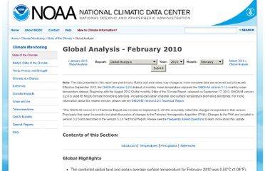 http://www.ncdc.noaa.gov/sotc/?report=global&year=2010&month=2&submitted=Get+Report