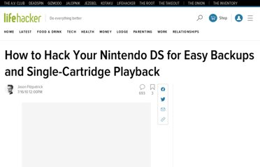 http://lifehacker.com/5588151/hack-your-nintendo-ds-for-easy-backups-and-single+cartridge+playback