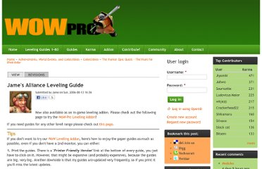 http://www.wow-pro.com/leveling_guides/james_alliance_leveling_guide