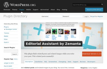 http://wordpress.org/extend/plugins/zemanta/