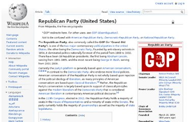 http://en.wikipedia.org/wiki/Republican_Party_(United_States)