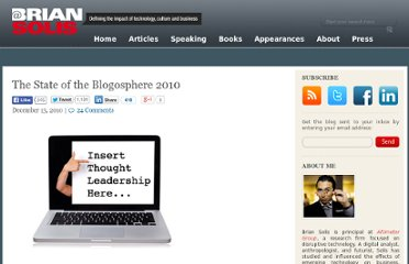 http://www.briansolis.com/2010/12/the-state-of-the-blogosphere-2010/