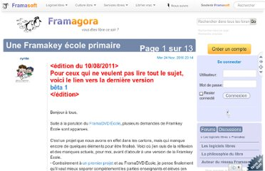http://forum.framasoft.org/viewtopic.php?f=73&t=34831