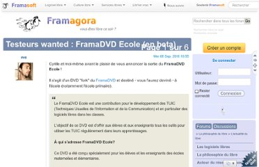 http://forum.framasoft.org/viewtopic.php?f=12&t=34520