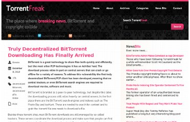 http://torrentfreak.com/truly-decentralized-bittorrent-downloading-has-finally-arrived-101208/