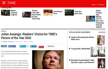http://newsfeed.time.com/2010/12/13/julian-assange-readers-choice-for-times-person-of-the-year-2010/