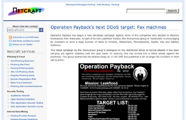 http://news.netcraft.com/archives/2010/12/13/operation-paybacks-next-ddos-target-fax-machines.html