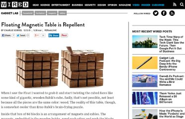 http://www.wired.com/gadgetlab/2010/12/floating-magnetic-table-is-repellent/