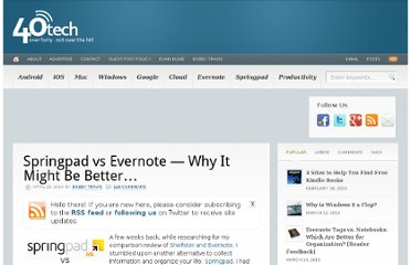 http://www.40tech.com/2010/04/20/springpad-vs-evernote-it-might-be-better/
