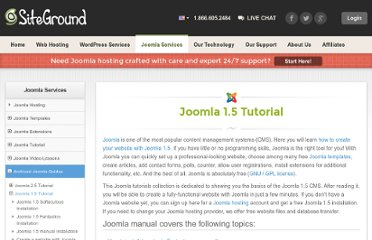 http://www.siteground.com/tutorials/joomla15/joomla_security.htm