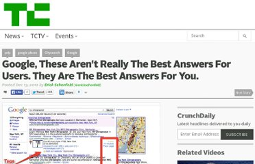 http://techcrunch.com/2010/12/13/google-places-best-answers/