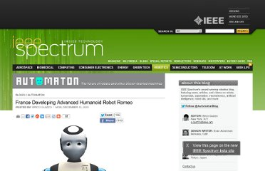 http://spectrum.ieee.org/automaton/robotics/humanoids/france-developing-advanced-humanoid-robot-romeo