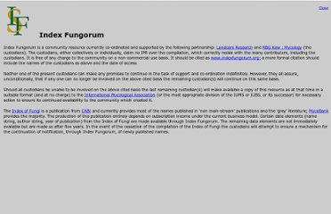 http://www.indexfungorum.org/Names/IndexFungorumPartnership.htm