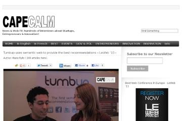 http://capecalm.tv/2010/12/14/tumbup-uses-semantic-web-to-provide-the-best-recommendations-leweb-10/