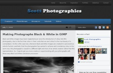 http://www.scottphotographics.com/making-photographs-black-white-in-gimp/
