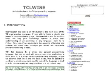 http://www.invece.org/tclwise/introduction.html