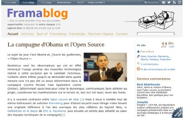http://www.framablog.org/index.php/post/2008/12/11/obama-open-source