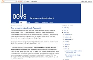 http://blog.ogys.fr/2010/05/tirer-le-maximum-des-google-apps-script.html