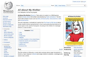 http://en.wikipedia.org/wiki/All_About_My_Mother