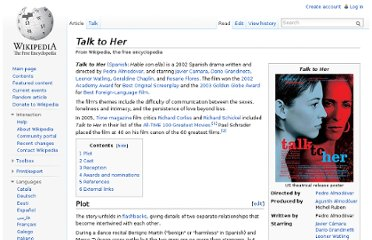 http://en.wikipedia.org/wiki/Talk_to_Her