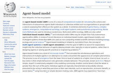 http://en.wikipedia.org/wiki/Agent-based_model