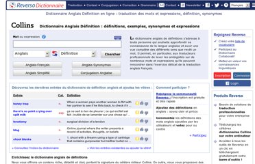 http://dictionnaire.reverso.net/anglais-definition/